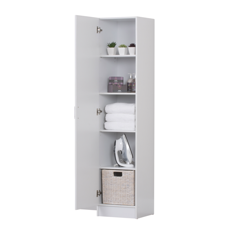 400mm White Pantry Cupboard